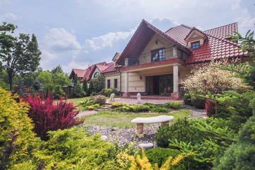 Stylish villa with terrace
