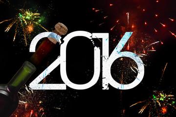 New year celebration, 2016