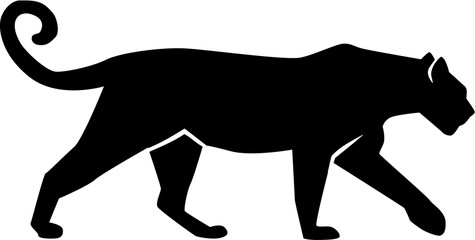 Leopard Silhouette gepard panther