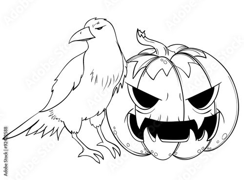 """""""halloween rabe kürbis"""" stockfotos und lizenzfreie"""