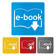 ebook download icon