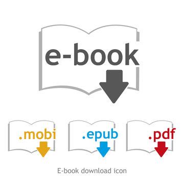 ebook download icon
