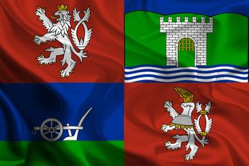 Flags of Regions of Czech Republic: Usti nad Labem