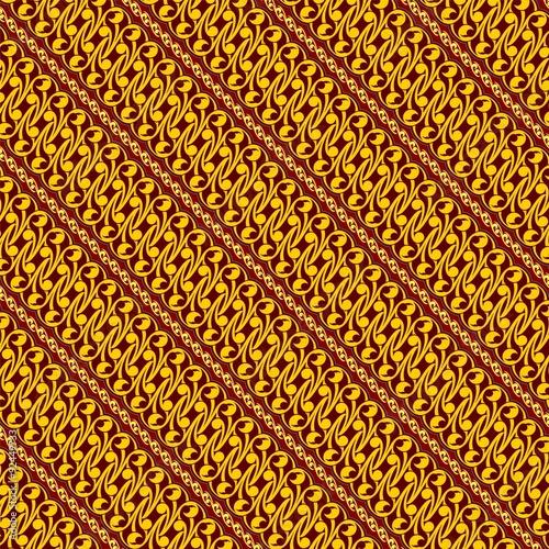 Wallpaper Batik Parang Soga Yogyakarta Stock Image And Royalty Free