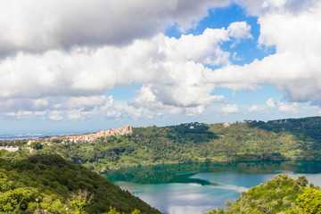 Lake of Nemi and Genzano 2