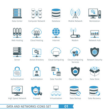 Networks Icon Set 01