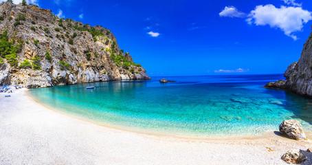 Obraz most beautiful beaches of Greece - Achata, in Karpathos island - fototapety do salonu