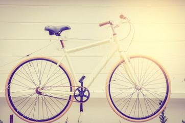 bicycles retro background