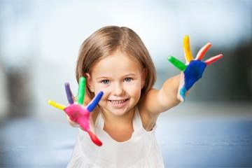 Painting kid.