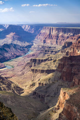 Grand Canyon in spectacular afternoon light