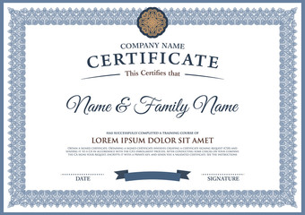 Search photos category lifestyle education graduation vector certificate template yadclub Image collections