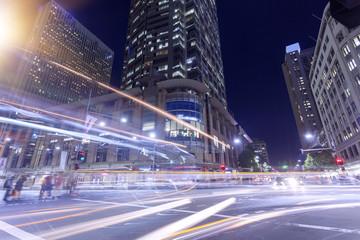 Sydney City Night Fotomurales