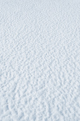 Abstract background of  snow