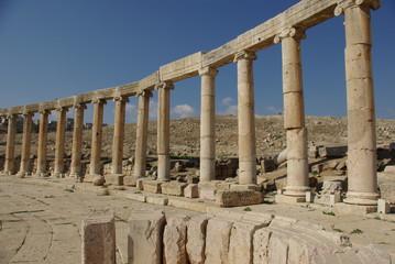 Jordanie, cité romaine de Jerash