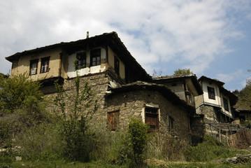 Leshten Eco Village in the Rodopi Mountains, Bulgaria
