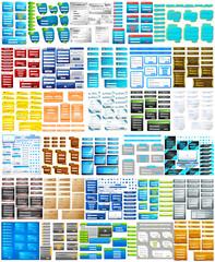 Website Design Template jumbo collection
