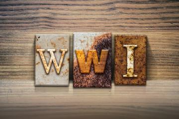 WWI Concept Letterpress Theme
