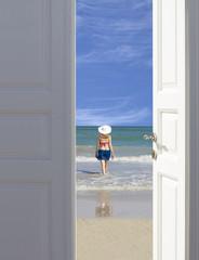 Open the door to paradise