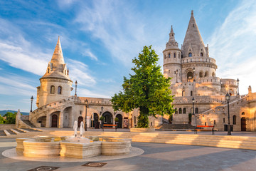Foto op Canvas Boedapest Fisherman's Bastion - Budapest - Hungary