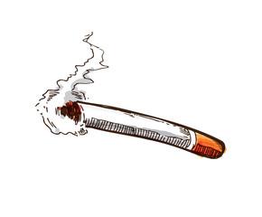 sketchy cigarette burns