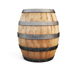 Wooden barrel for wine