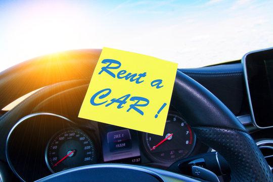 Rent a CAR !