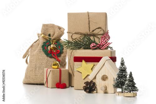 weihnachtsgeschenke mit deko immagini e fotografie. Black Bedroom Furniture Sets. Home Design Ideas