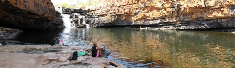 bell gorge, gibb river road, kimberley, west australia
