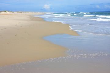Beach on Okracoke
