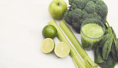 Healthy vegetable smoothy hero header