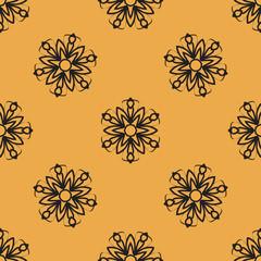 Endless elegant Ornamental stylized flower pattern for your