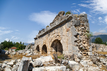 Tlos Ancient City
