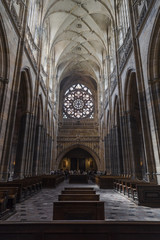 Interior of Saint Vitus Cathedral