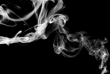Abstract Smoke graphic white color background. Smoke graphic background made with colorful filters.