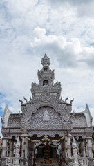 Traditional Thai style art of stucco in  The City Pillar  Shrine