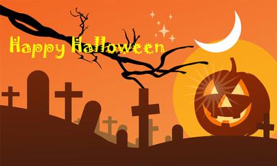 halloween day, vector image