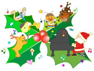 クリスマスの演奏会