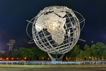 Unisphere Sculpture - New York