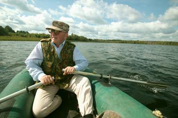 Portrait oars