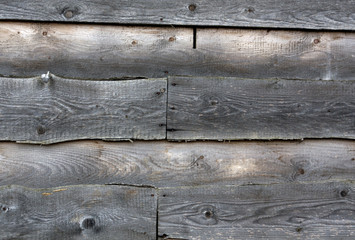 Rough wood wall texture.