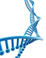 DNA structure in digital background