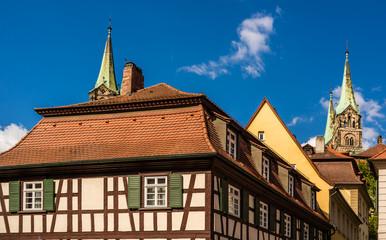 Wall Mural - Blick zum Dom in Bamberg