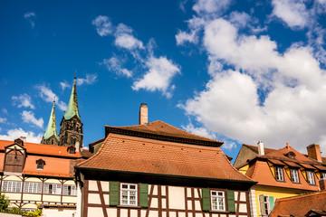 Wall Mural - Fackwerkhäuser in Bamberg