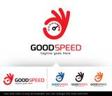 Speed Logo Design Vector