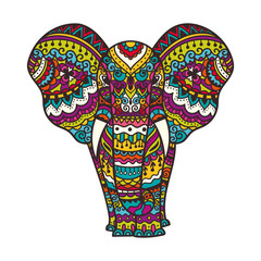 Decorative elephant illustration
