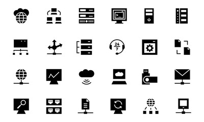 Database and Server Vector Icons 3