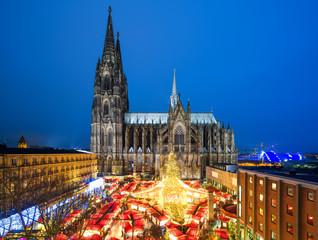 Kölner Weihnachtsmarkt / Cologne Christmas Market