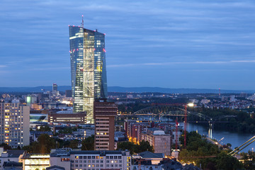 Wall Mural - European Central Bank in Frankfurt, Germany