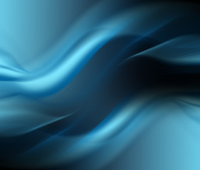Aluminium Prints Abstract wave Abstract blue background