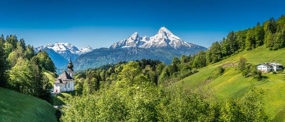 Fototapete - Berchtesgadener Land, Bavaria, Germany